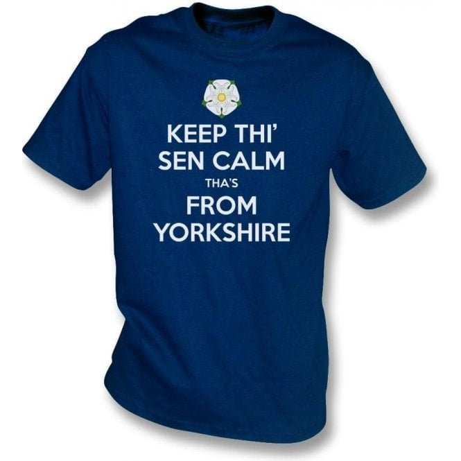 Keep Thi' Sen Calm Tha's From Yorkshire Kids T-Shirt