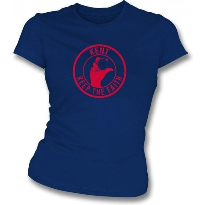 Kent Keep The Faith Women's Slimfit T-shirt