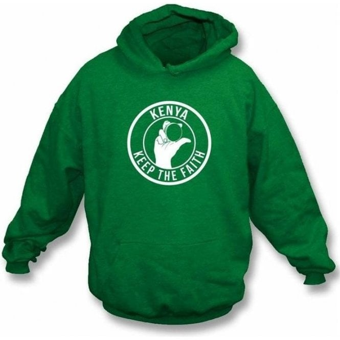 Kenya Keep The Faith Hooded Sweatshirt