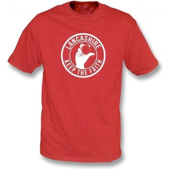 Lancashire Keep The Faith T-shirt