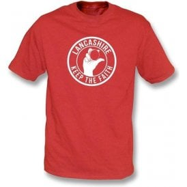Lancashire Keep The Faith T-shirt