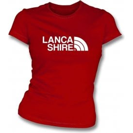 Lancashire Region Womens Slim Fit T-Shirt