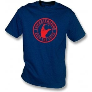 Leicestershire Keep The Faith T-shirt