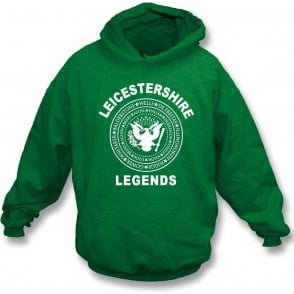 Leicestershire Legends (Ramones Style) Hooded Sweatshirt