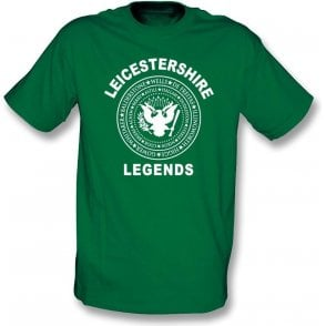Leicestershire Legends (Ramones Style) Kids T-Shirt