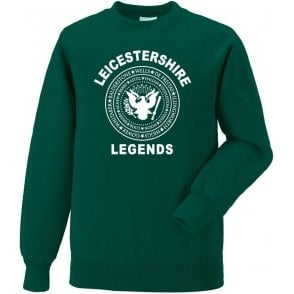 Leicestershire Legends (Ramones Style) Sweatshirt
