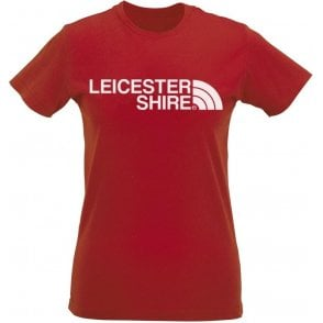 Leicestershire Region Womens Slim Fit T-Shirt