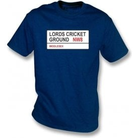 Lords Cricket Ground NW8 T-shirt (Middlesex)