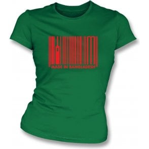 Made In Bangladesh Womens Slim Fit T-Shirt