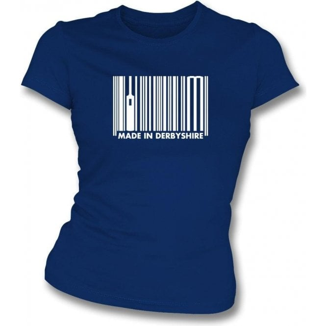 Made In Derbyshire Womens Slim Fit T-Shirt