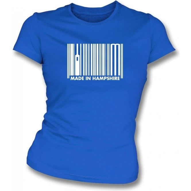 Made In Hampshire Womens Slim Fit T-Shirt