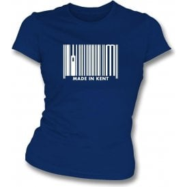 Made In Kent Womens Slim Fit T-Shirt