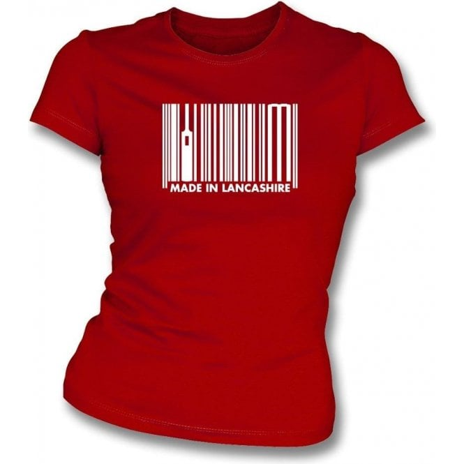 Made In Lancashire Womens Slim Fit T-Shirt