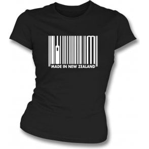 Made In New Zealand Womens Slim Fit T-Shirt