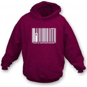Made In Northamptonshire Hooded Sweatshirt