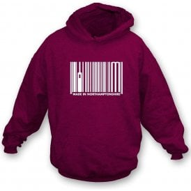 Made In Northamptonshire Hooded Sweatshirt