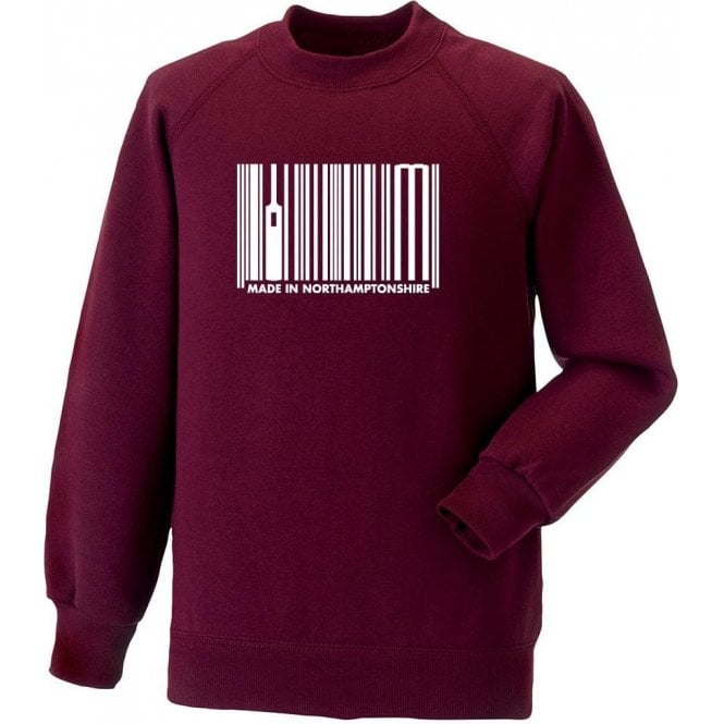 Made In Northamptonshire Sweatshirt