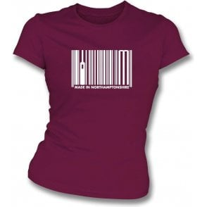 Made In Northamptonshire Womens Slim Fit T-Shirt