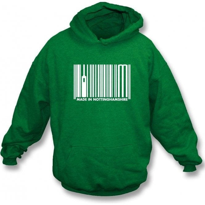Made In Nottinghamshire Hooded Sweatshirt