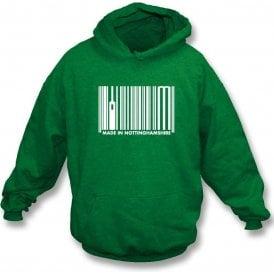 Made In Nottinghamshire Kids Hooded Sweatshirt