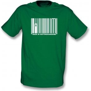 Made In Nottinghamshire Kids T-Shirt