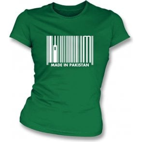 Made In Pakistan Womens Slim Fit T-Shirt