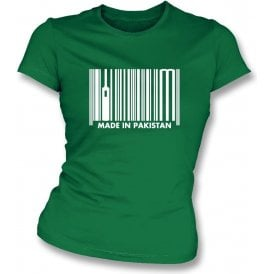 Made In Pakistan Womens Slim Fit T-Shirt