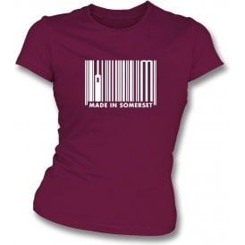 Made In Somerset Womens Slim Fit T-Shirt