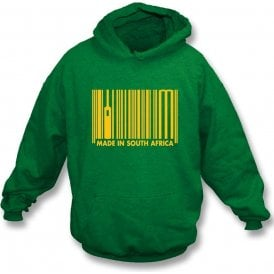 Made In South Africa Kids Hooded Sweatshirt