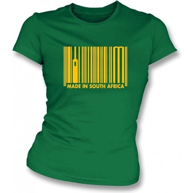 Made In South Africa Womens Slim Fit T-Shirt