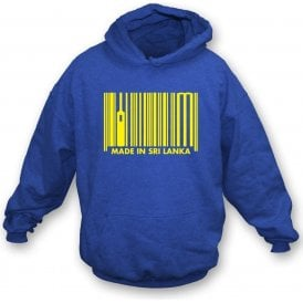 Made In Sri Lanka Hooded Sweatshirt