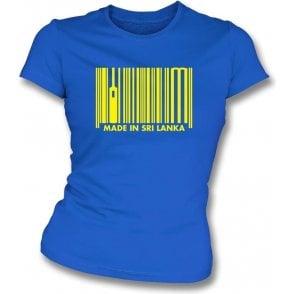 Made In Sri Lanka Womens Slim Fit T-Shirt