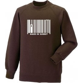 Made In Surrey Sweatshirt