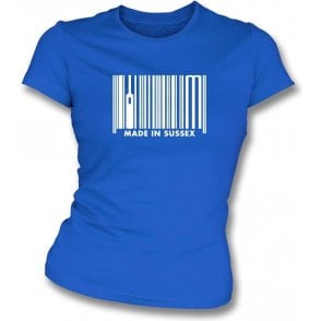 Made In Sussex Womens Slim Fit T-Shirt