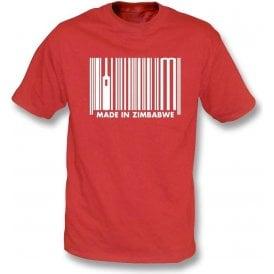 Made In Zimbabwe Kids T-Shirt