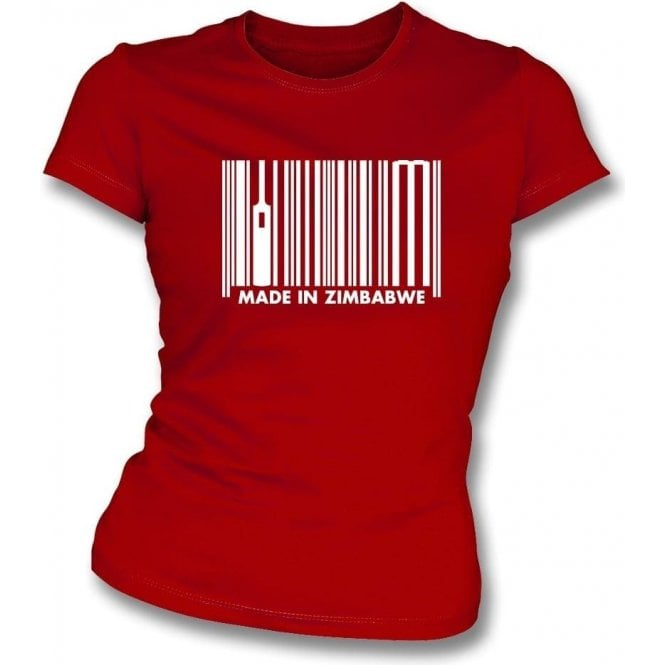 Made In Zimbabwe Womens Slim Fit T-Shirt