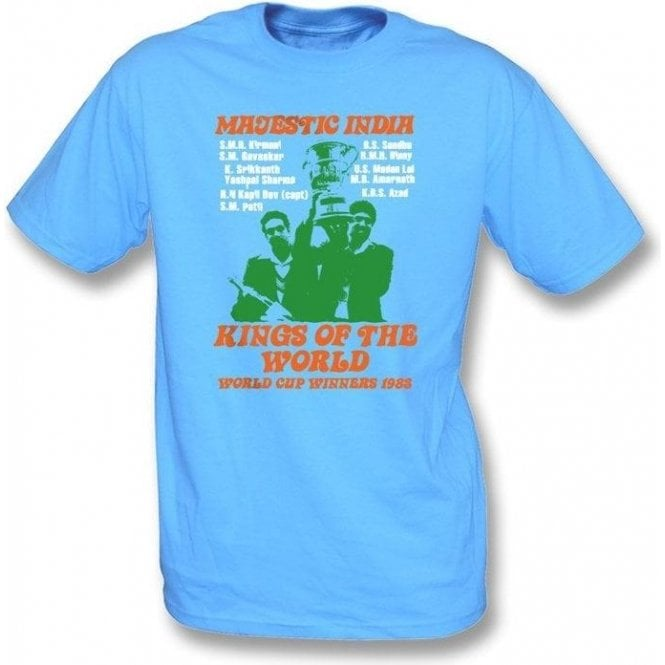 Majestic India World Cup Winners 1983 t-shirt
