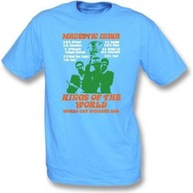 Majestic India World Cup Winners 1983 t-shirt
