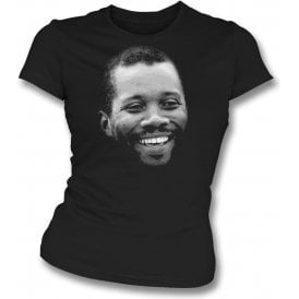 Malcolm Marshall Large Face Womens Slim Fit T-Shirt