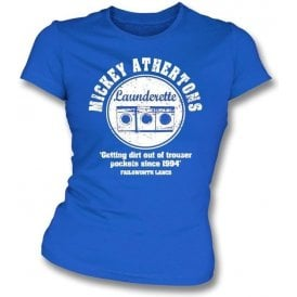 Mickey Atherton's Launderette Womens Slim Fit T-Shirt