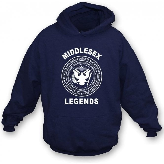 Middlesex Legends (Ramones Style) Hooded Sweatshirt