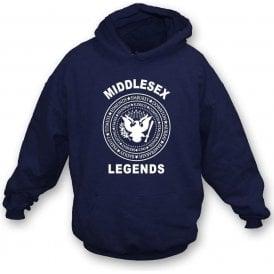 Middlesex Legends (Ramones Style) Hooded Sweatshirt