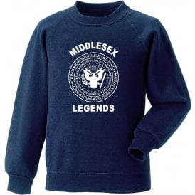 Middlesex Legends (Ramones Style) Sweatshirt