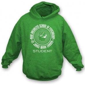 Mike Brearley's School Of Psychology-Student Hooded Sweatshirt