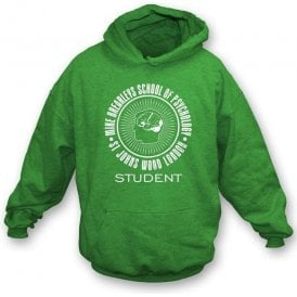 Mike Brearley's School Of Psychology-Student Hooded Sweatshirt