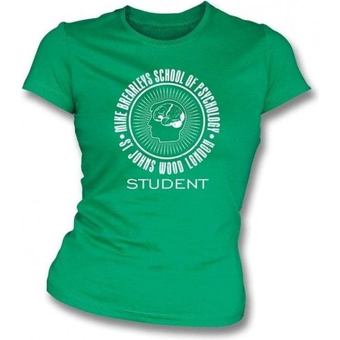 Mike Brearley's School Of Psychology - Student Ladies Slimfit T-shirt