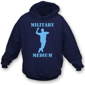 Military Medium Kids Hooded Sweatshirt