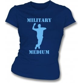 Military Medium Womens Slim Fit T-Shirt