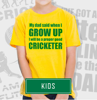 PunkCricket; Kids cricket t-shirts