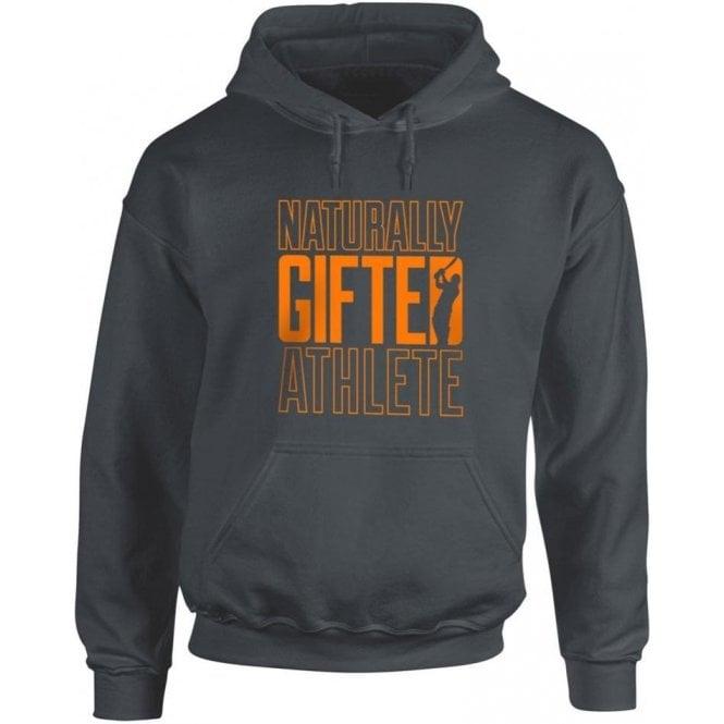 Naturally Gifted Athlete Kids Hooded Sweatshirt